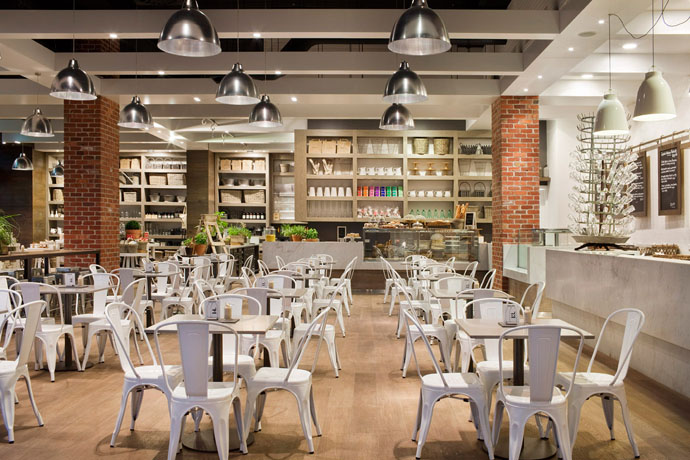 Capital Kitchen Urban Farmhouse Cafe By Mim Design