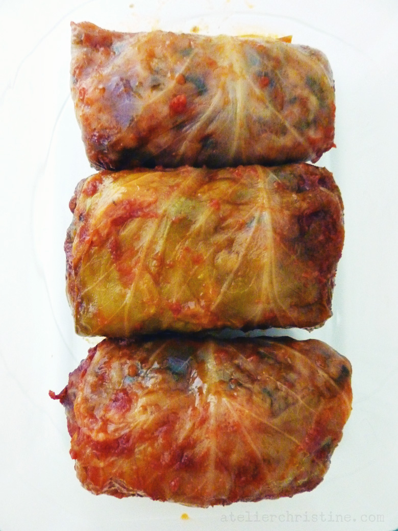 Cabbage Rolls With Legumes Spelt Rice Kaghampi Pasuts