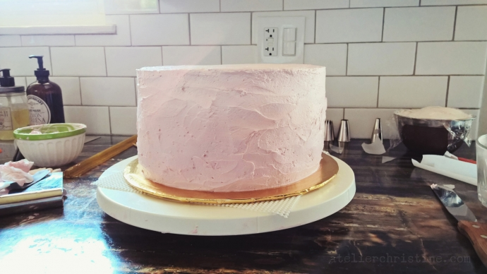 le Shoppe | Oh Baby!  Pink Ombre Buttercream Cake