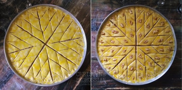 How-To Cut + Decorate PAKHLAVA, Homestyle Armenian Baklava