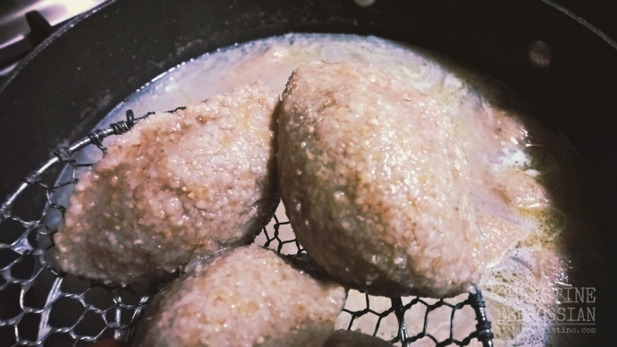 Assyrian Kibbeh Poached in Broth | KBEHBAT, KUTLEH