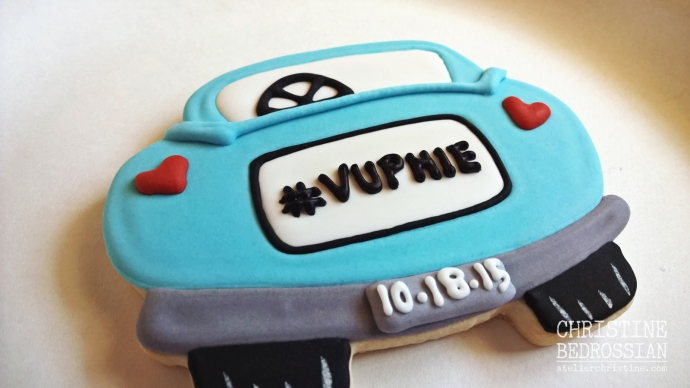 le Shoppe | Just Married Car Cookie Wedding Favors