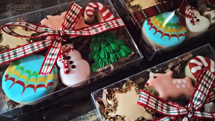 le Shoppe | Winter Holiday Baking, Christmas Cookie Gift Box