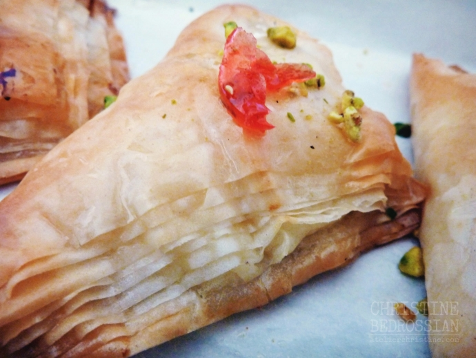 Clotted Cream + Phyllo Dough Parcels | Warbat bil Ashta, Shaabiyat