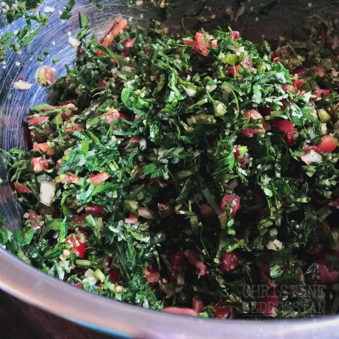 Tabbouleh | Parsley Salad