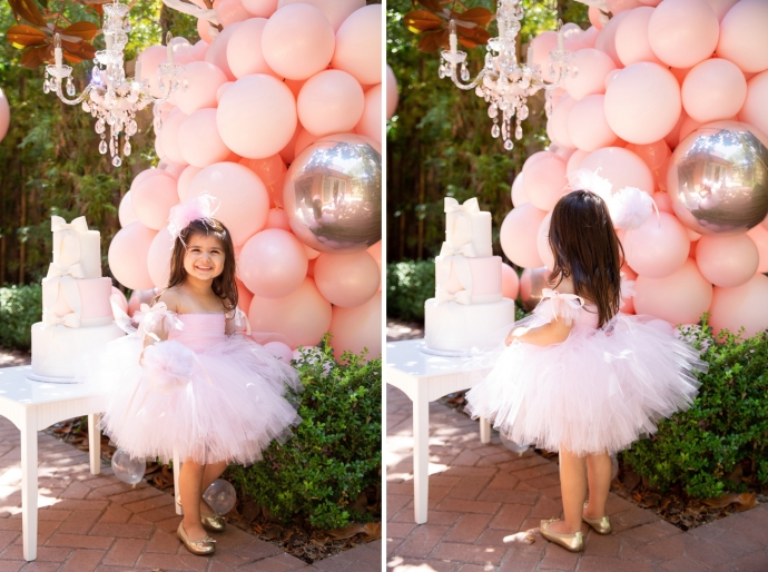 """ Welcome TuTu My Party "" a ballet themed birthday gathering featuring little ballerinas."