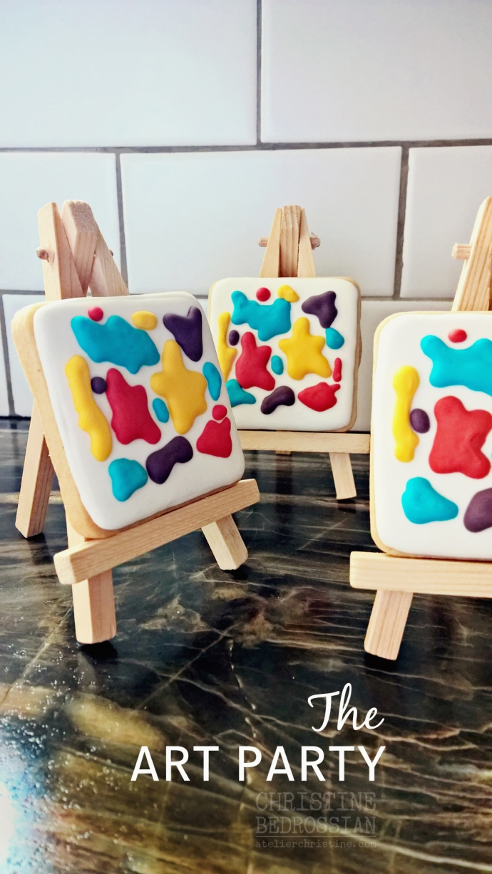 le Shoppe | 8th Birthday Kids Art Party